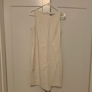 Never worn Banana Republic dress in light khaki